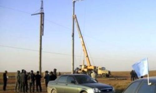 Блокадовцы снова препятствуют ремонту ЛЭП