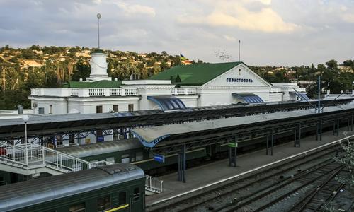 Севастопольский вокзал обновили перед запуском поездов
