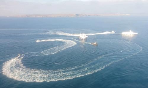 Украина передумала ходить под Крымским мостом