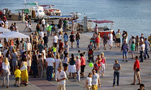 Севастополь с начала года принял более 400 тысяч туристов