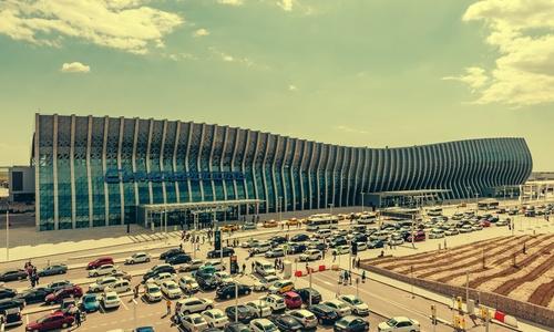 Уникальные кадры аэропорта Симферополя в период коронавируса