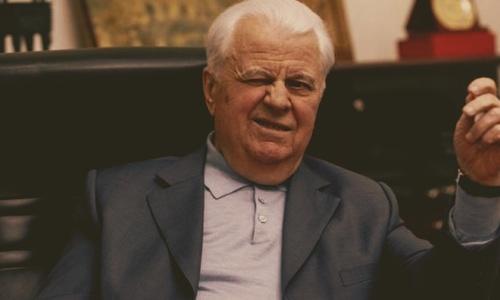87-летний Леонид Кравчук хотел бы увидеть Крым