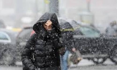 Сегодня в Крыму до +7 и мокрый снег