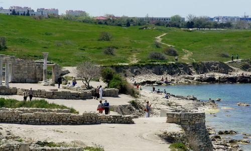 Севастопольцам могут запретить купания в Херсонесе