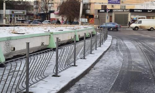 Ремонт улицы Козлова в Симферополе подходит к концу