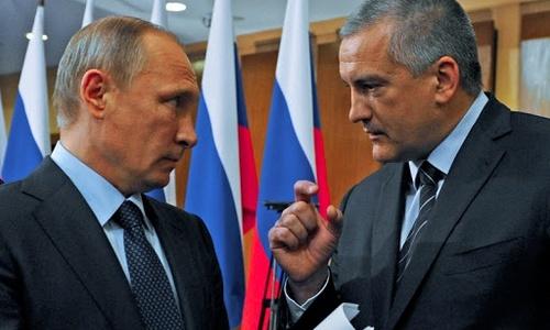 О чем конкретно расспрашивал Путин Аксенова не разглашается
