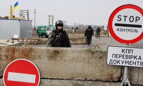 В Рождество крымско-украинскую границу перешли меньше людей