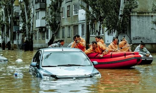 Предыдущие наводнения в Крыму. Их было много