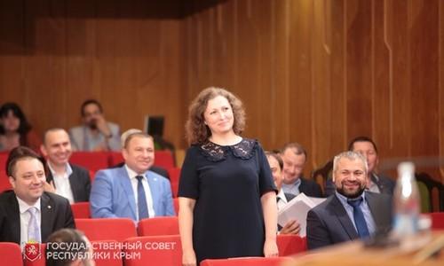 Жукова стала заместителем Аксенова