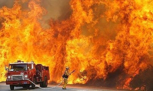 За три дня в Крыму потушили 128 пожаров