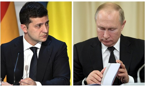 Песков ответил на слова Зеленского о рукопожатии с Путиным