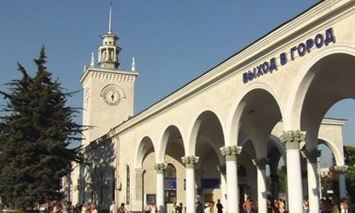 На ж/д вокзале Симферополя поселятся ополченцы