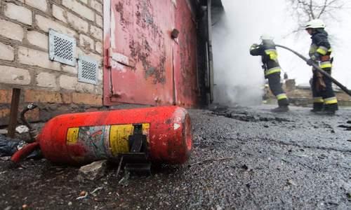 На многоэтажке в Щелкино взорвались газовые баллоны