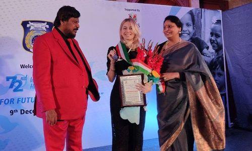 Поклонскую наградили в Индии за защиту прав крымчан