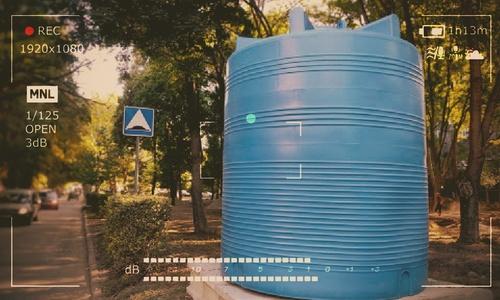 В Симферополе к емкостям с водой подвели видеокамеры