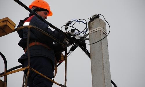 Во всем Крыму восстановили электроснабжение после аварии