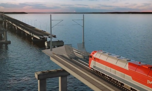 По Крымскому мосту могут запустить чартерные поезда