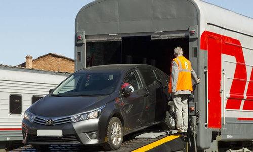В Крым пустят спецвагоны для перевозки новых авто