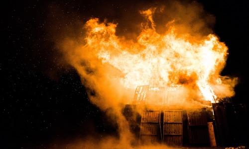 Под Севастополем горел элитный отель