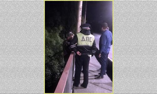 Привлекут ли к уголовке прыгальщицу с моста, не сообщается