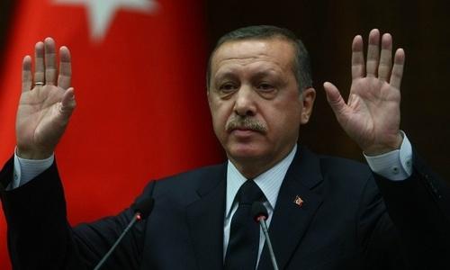 ФОТОФАКТ: под крымским Совмином сожгли Эрдогана