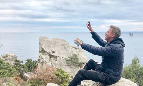 Актер Панин разделся в Крыму и назвал его украинским