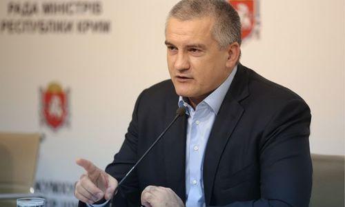 Аксенов пощадил болеющих глав МУПов Симферополя
