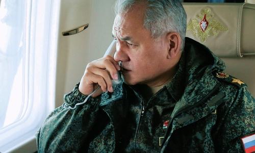 Шойгу может поехать в Украину через Крым, взяв с собой всех своих