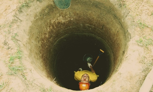В Укромном под Симферополем ушла вода из колодцев