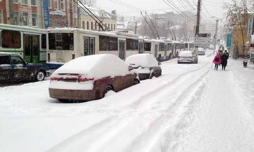 Коммунальщики Феодосии лишатся кресел из-за бездействия в снегопад