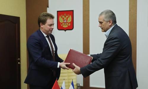 Главы Крыма и Севастополя подписали новое соглашение