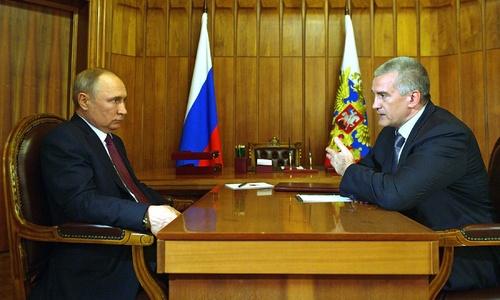 Крымчане порадовали Аксенова большой любовью к Путину