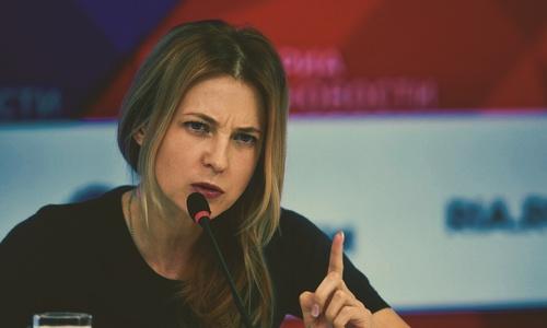 Поклонская решила канализировать недовольство крымчан