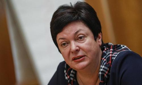 Гончарова решила уйти в отставку