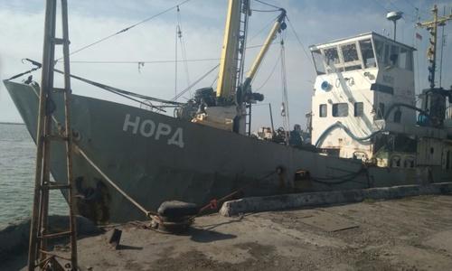 Ситуация с экипажем судна «Норд» не изменилась