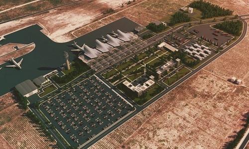 В следующем году аэропорт «Бельбек» обзаведется аэровокзальным комплексом