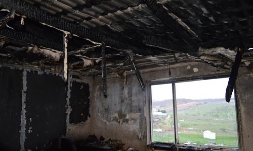 В поселке под Севастополем загорелись несколько домов
