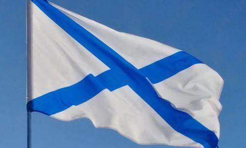 Протоиерей освятил Андреевские флаги в Севастополе