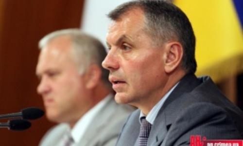 Константинов увидел в блокаде Крыма геноцид