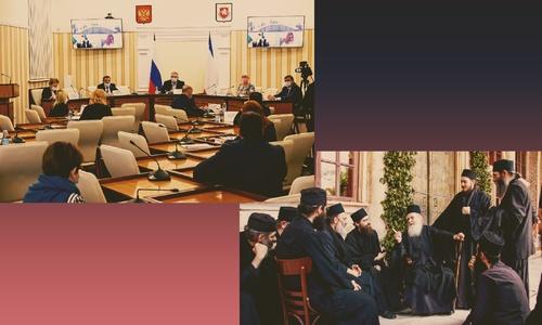На штабе у Аксенова заговорили по церковнославянски