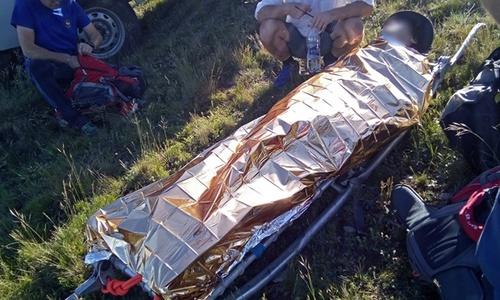 Парапланерист повредил позвоночник в крымских горах