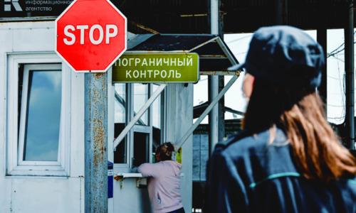 Киев сокращает украино-российские коридоры через Крым