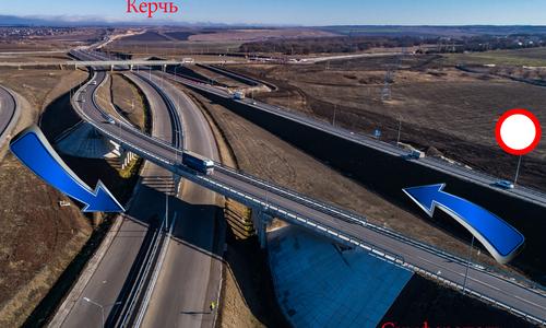 Схема движения на въезде в Симферополь изменится