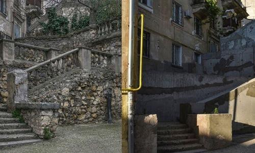 Лестницу в центре Севастополя обещают привести в порядок