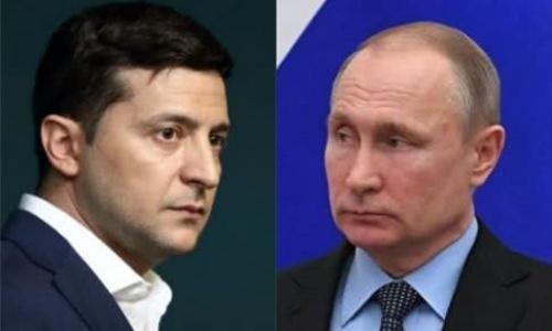 Путин и Зеленский поговорили об освобождении крымчан