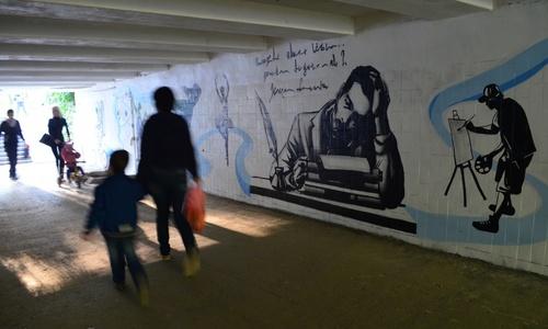 В Симферополе появились арт-переход и «Причал добра»