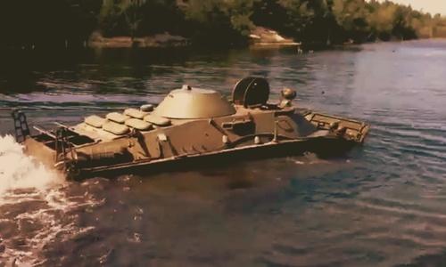 На дне Керченского пролива добавился новый экспонат – утонула бронемашина