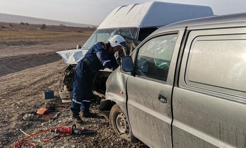 В двух ДТП в Бахчисарайском районе пострадали пятеро