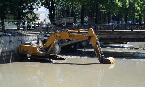 К концу июля в русле Салгира будет чистая вода