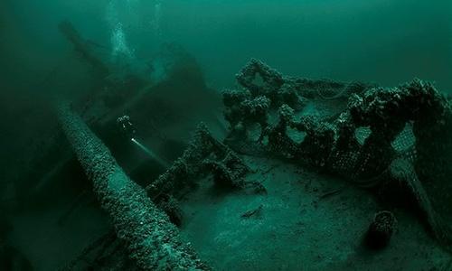 Опознан потопленный у Крыма немецкий пароход